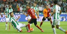 Galatasaray deplasmanda yendi