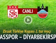 Medicana Sivasspor 0 – 1 Diyarbekirspor   Takımımız Tur Atladı