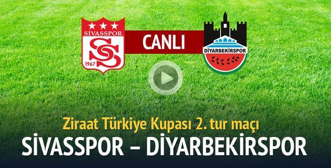 Medicana Sivasspor 0 – 1 Diyarbekirspor | Takımımız Tur Atladı