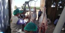 Yasin Börü için kurban eti dağıtıldı