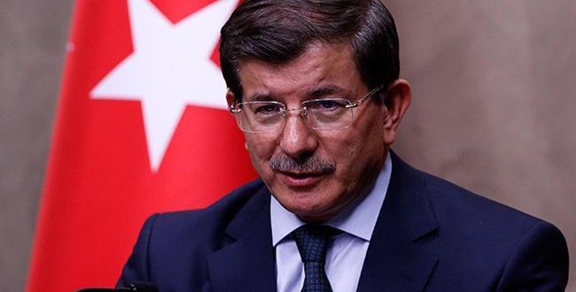 Başbakan Davutoğlu'ndan başsağlığı mesajı