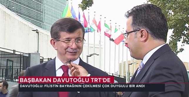 Başbakan Davutoğlu tarihi anı TRT Haber'e değerlendirdi