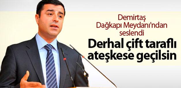 Selehattin Demirtaş'tan flaş Sur açıklaması !