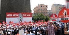 Diyarbakır'da PKK'ya silah bırak çağrısı yaptılar