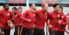 Galatasaray, Astana maçı hazırlıklarına başladı
