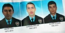 Nusaybin'de şehit düşen polislerin isimleri belli oldu