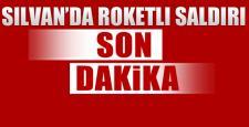 Silvan'da roketli saldırı: 1 polis şehit