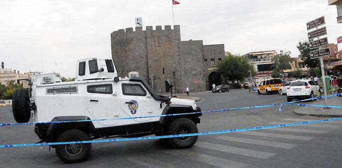Diyarbakır'ın Sur ilçesinde çatışma!