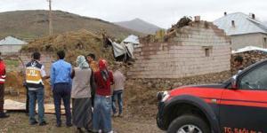 4.8 büyüklüğündeki deprem yıktı!