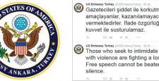 Ahmet Hakan'a saldırı hakkında ABD Büyükelçiliği'nden açıklama