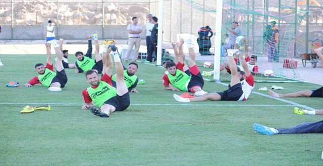 Amedspor, Tarsus İdman Yurdu maçına hazırlanıyor