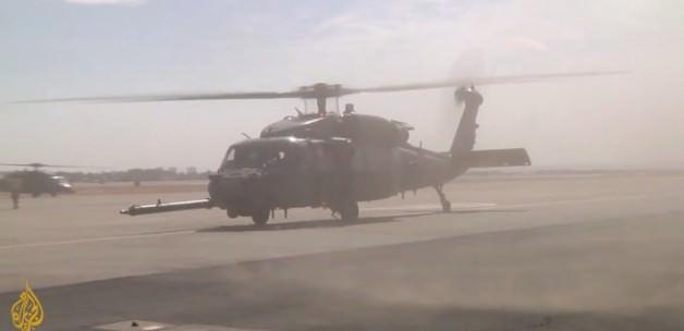 Amerika'dan Diyarbakır'a helikopter