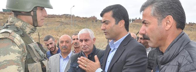 Asker, Dağlıca bölgesine gitmek isteyen HDP'lilere izin vermedi