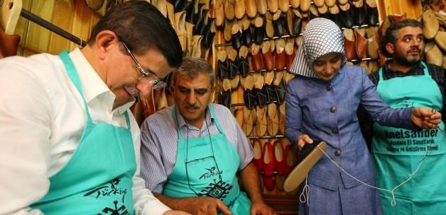 Başbakan Davutoğlu Gaziantep'te