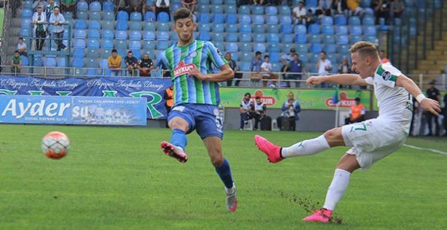 Bursaspor, Rizespor'u Necid ile yıkmasını bildi. 3 – 2