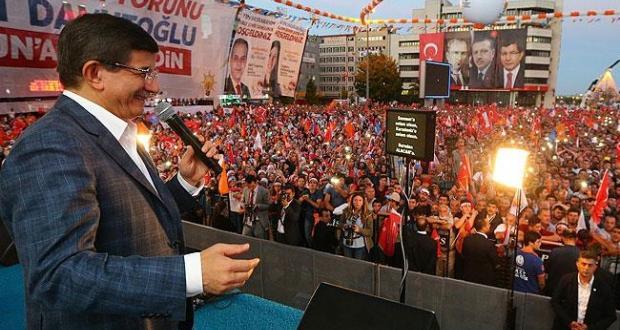 Davutoğlu'ndan Samsun'da müjde verdi