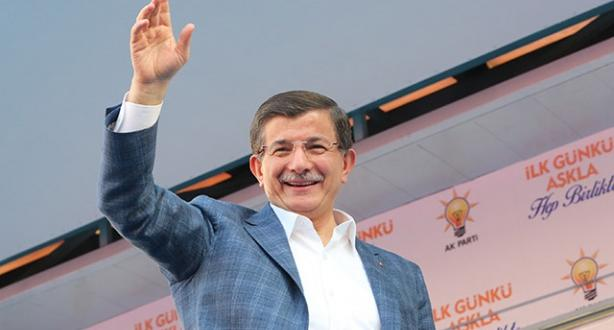 Davutoğlu AK Parti Kahramanmaraş mitinginde konuşuyor