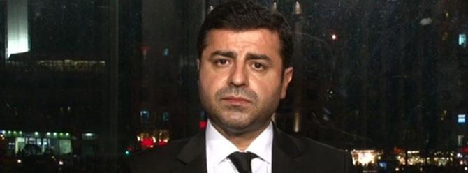 Demirtaş'tan Ankara saldırısı açıklaması