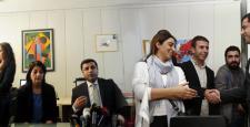 Demirtaş, Dicle Haber Ajansı (Diha) ziyaret etti