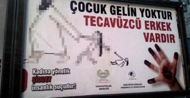 Diyarbakır'da billboardları'nda skandal afiş