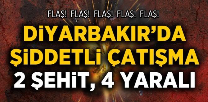 Diyarbakır'da IŞİD'in hücre evine operasyon; 2 polis şehit, 4 yaralı