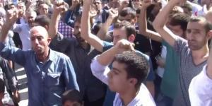 Diyarbakırda Cuma namazı sonrası HDP protesto edildi