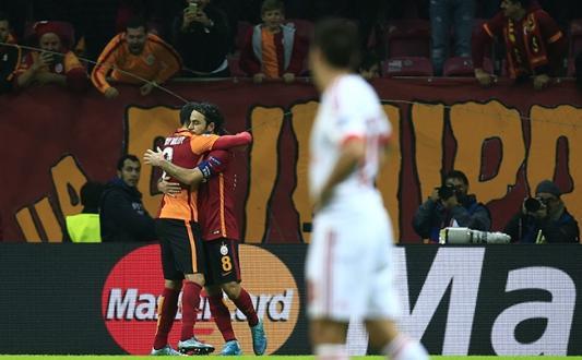 Galatasaray – Benfica maçı özeti 2-1