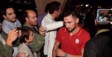 Galatasaray kafilesi Gümülcine'e ulaştı