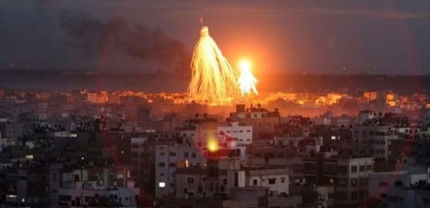 İsrail'den Gazze'ye hava saldırısı operasyonları