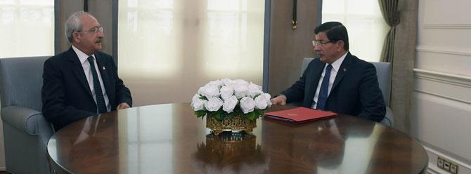 Davutoğlu; Kılıçdaroğlu, Bahçeli ve Demirtaş ile görüşecek