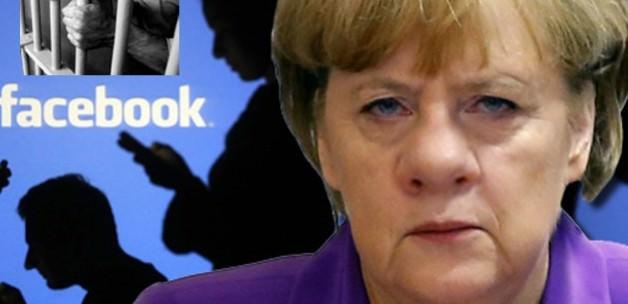 Merkel'i tehdit etti, direk hapse atıldı