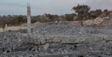 Mardin'de PKK mezarlığındaki yapılar imha edildi