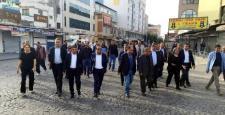 Parti ve STK temsilcileri Sur İlçesi'ni Gezdiler