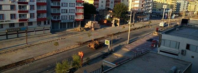 Silvan'da sokağa çıkma yasağı bugün kaldırıldı (05/10/2015)
