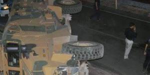 Şırnak'ta askeri araç devrildi: 13 asker yaralı