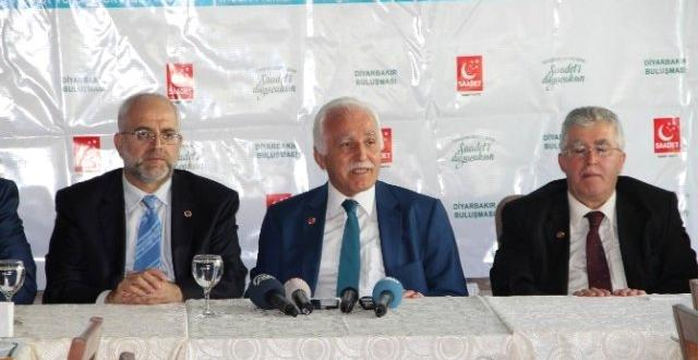 Sp Genel Başkanı Kamalak; Diyarbakır'da Stk'larla Buluştu