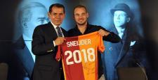 Ve Sneijder imzaladı!
