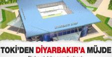 Diyarbakır Yeni Stadın Yüzde 30'u Tamamlandı