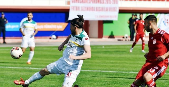 Amedspor'dan sezonun ilk deplasman galibiyeti