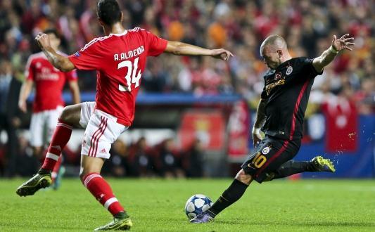 Benfica 2 – 1 Galatasaray (Maçın özeti)
