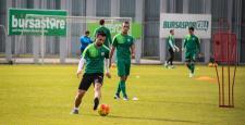 Bursaspor'da Kayserispor hazırlıkları başladı
