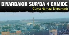 Sur'da 4 camide Cuma Namazı kılınamadı