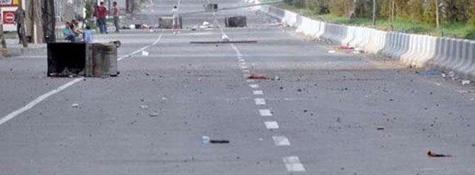 Cizre'de sokağa çıkma yasağı (15 Kasım 2015)