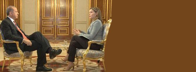 CNN muhabirinden Erdoğan'a IŞİD ve Kürtler sorusu