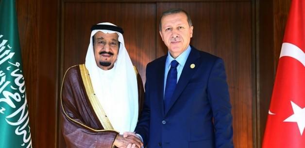 Erdoğan ve Kral görüşmesinde sürpriz isim