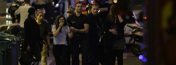 Paris'te kanlı terör katliamı