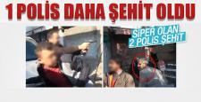 Diyarbakır'da bir polis daha şehit oldu