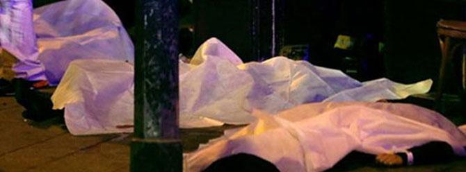 Teröristler, Paris'te bir kişinin kafasını kesti