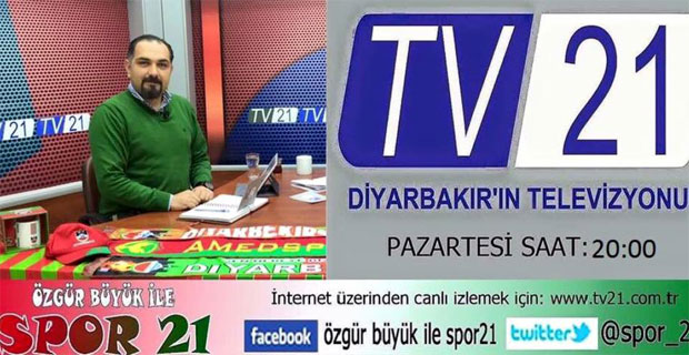 Özgür Büyük ile Spor21 bu Tv21'de