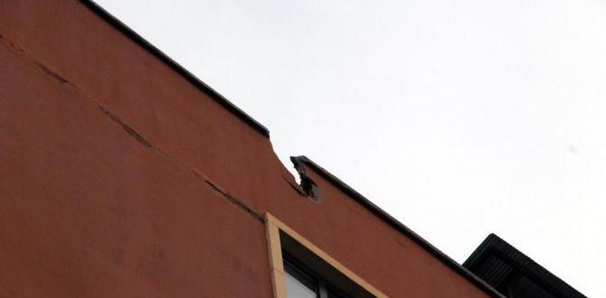 Sur'dan atılan Roket Yenişehir'de binanın çatısına düştü
